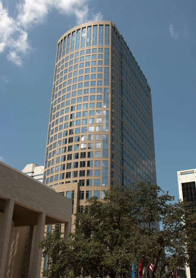 The 33-story 717 Texas tower had its assessment cut on appeal to $130.6 million from $151.4 million. Photo: J. Patric Schneider / © 2012 Houston Chronicle