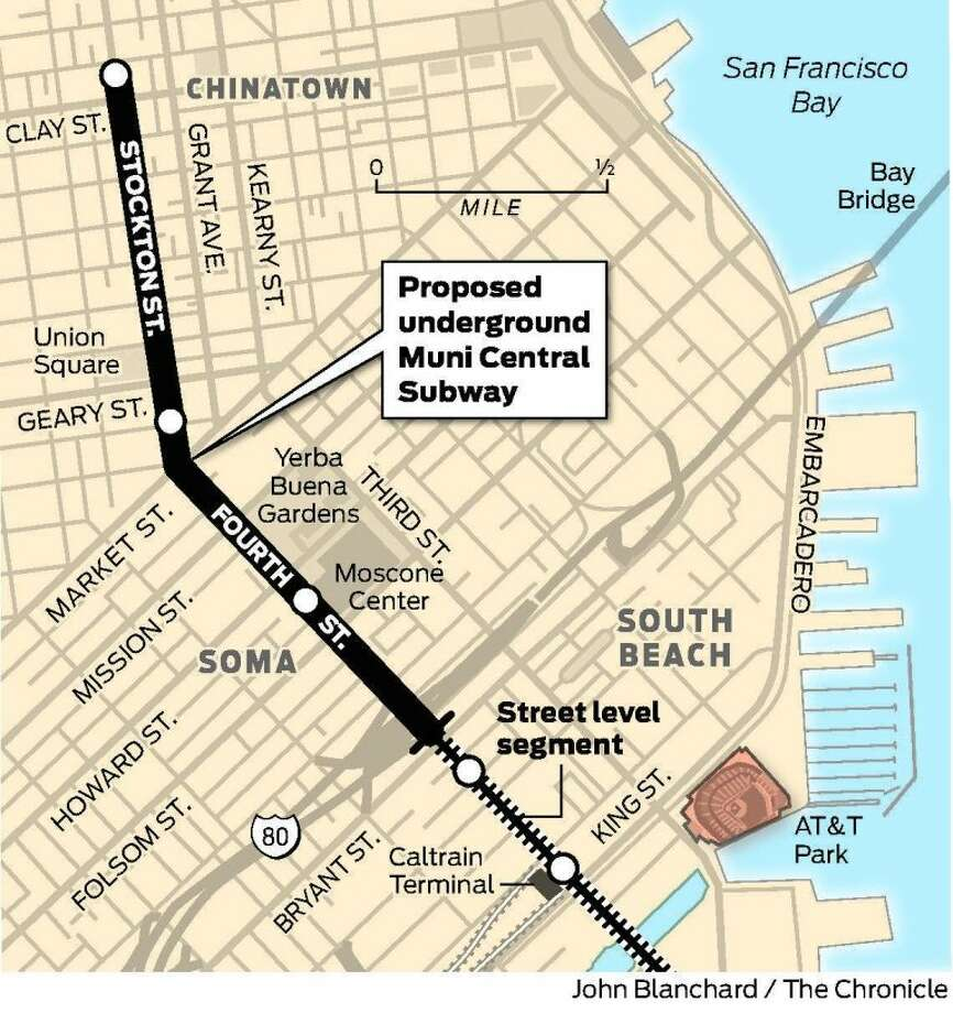 Low Bid On Subway Station Could Cost Sf Sfgate