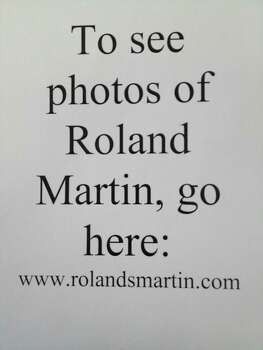 We couldn't find photos of columnist Roland Martin, so visit his website to see what he looks like: www.rolandsmartin.com Photo: Lookalikes Martin