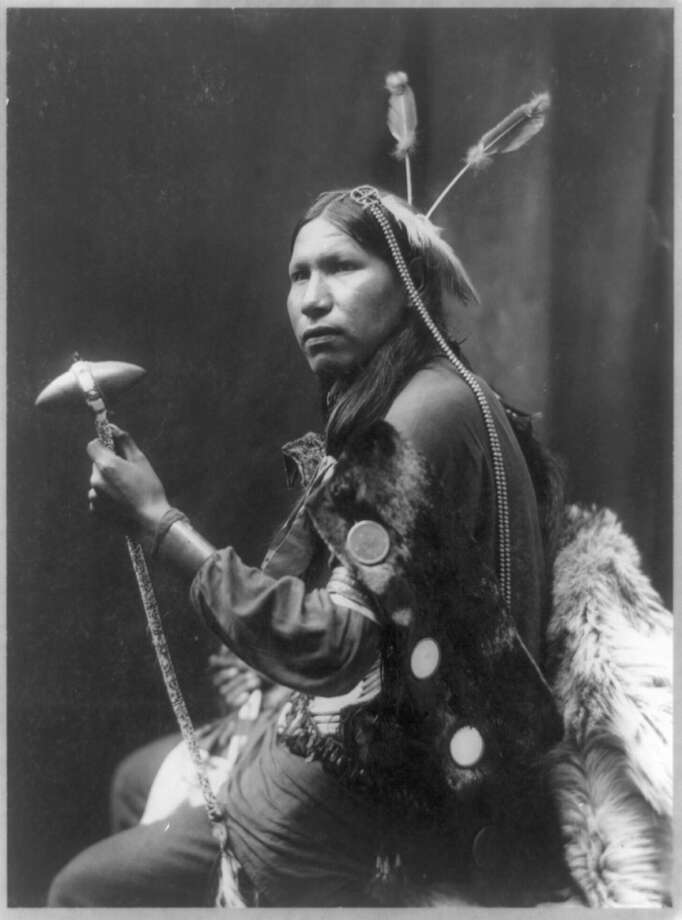 Albert Afraid of Hawk came to Danbury on June 28, 1900 as part of Buffalo Bill's touring show. He died of food poisoning two days later and was buried in an unmarked grave at Wooster Cemetery. Photo: Contributed Photo