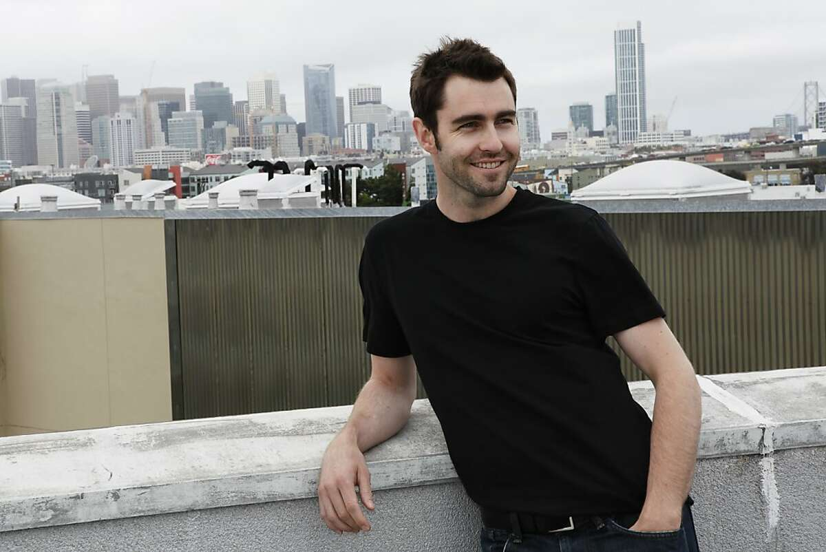 Change.org founder Ben Rattray on the roof of his office in San Francisco, Calif. on Thursday, June 21, 2012.