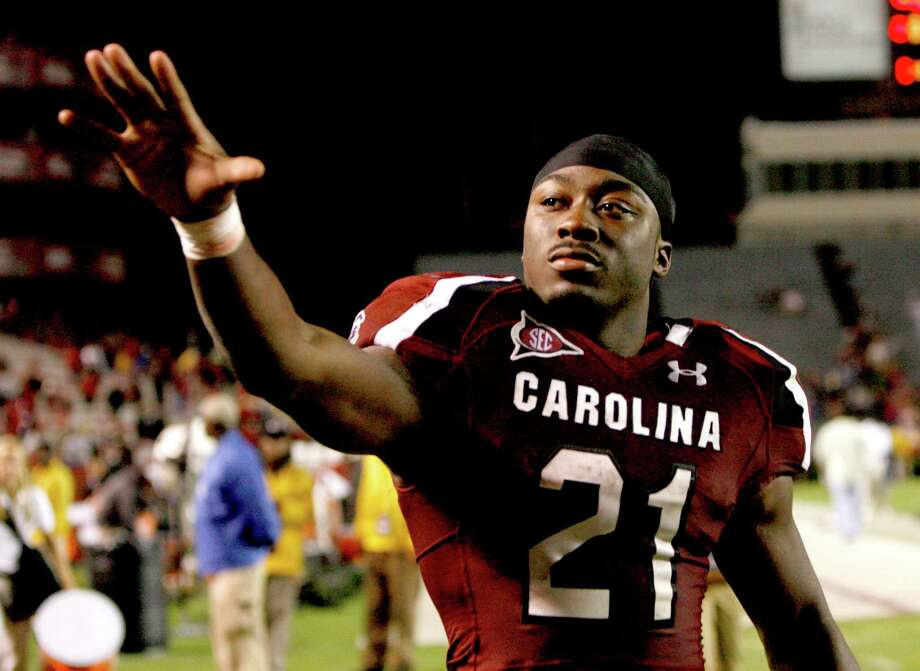 South Carolina running back Marcus Lattimore again is a key component of the Gamecocks' offense. Lattimore was expected to challenge for the Heisman last season before he was injured. Photo: Tracy Glantz, McClatchy-Tribune News Service / The State