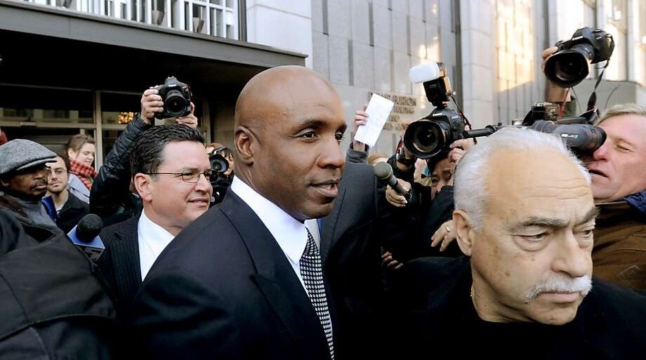 Former Giant Barry Bonds, shown leaving federal court last year, will be on the Hall of Fame ballot for the first time. No player linked to steroids so far has been elected to the Hall. Photo: Noah Berger, Associated Press