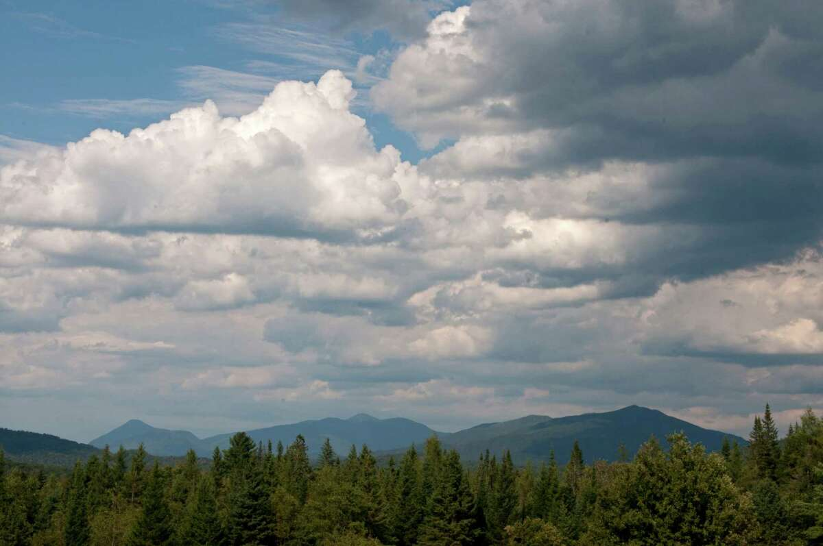 View of some of the Adirondack mountains on Wednesday Aug. 7, 2012. (Philip Kamrass / Times Union)