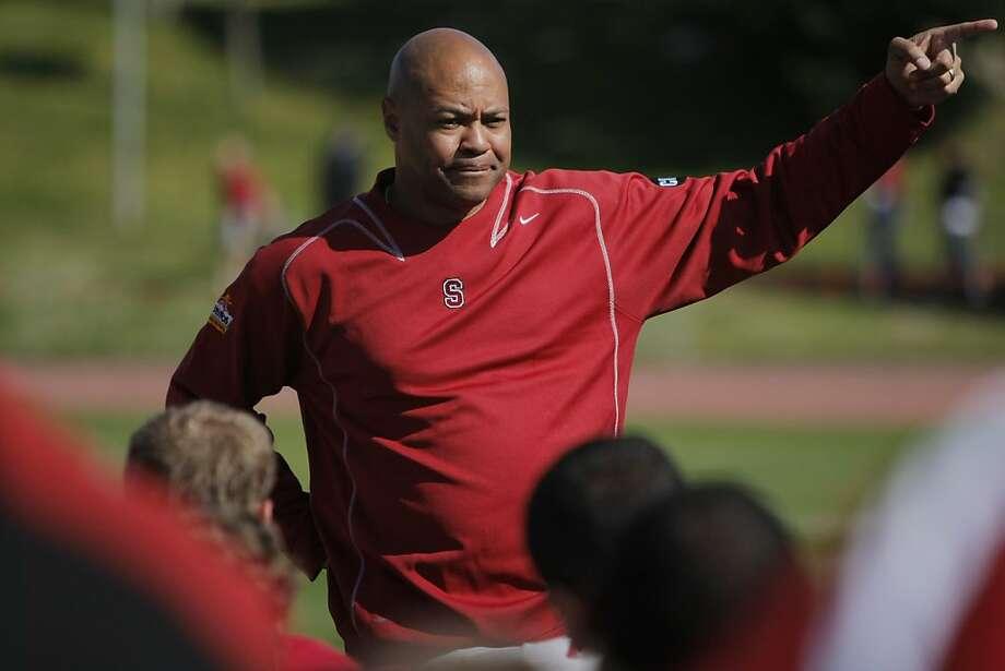 Coach David Shaw will soon pick Josh Nunes or Brett Nottingham - or maybe Kevin Hogan. Photo: Erik Verduzco, The Chronicle