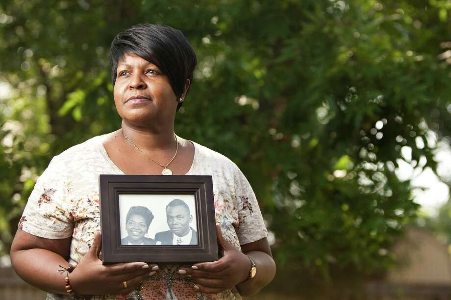 Darlene Sims' parents, Mattie Catherine Sims and Theodore Sims Sr., passed away in the late 1960s and '70s. Dwayne K. Jordon claimed they sold the family's land to him in 2006. Photo: Nick De La Torre / © 2012  Houston Chronicle