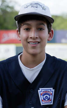McAllister Park Little League, No. 7 pitcher Troy Montemayor. Photo: Jerry Lara, San Antonio Express-News / glara@express-news.net