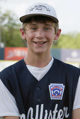 McAllister Park Little League, No. 35 outfielder Tanner Scarborough. Photo: Jerry Lara, San Antonio Express-News / glara@express-news.net