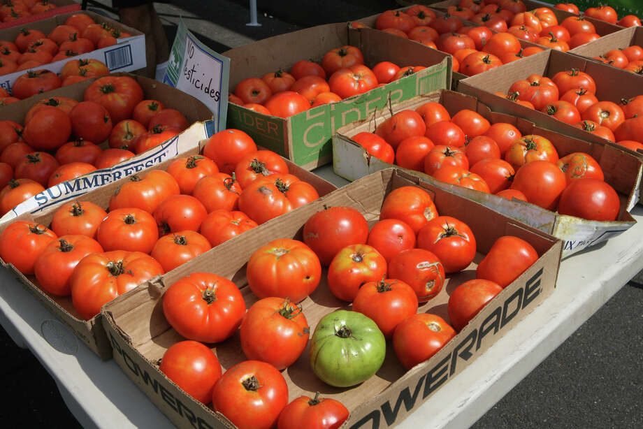 The downtown Milford farmers market is back every Saturday through October 11. Find out more.More area farmers markets  Photo: Unknown, B.K. Angeletti / Connecticut Post freelance B.K. Angeletti