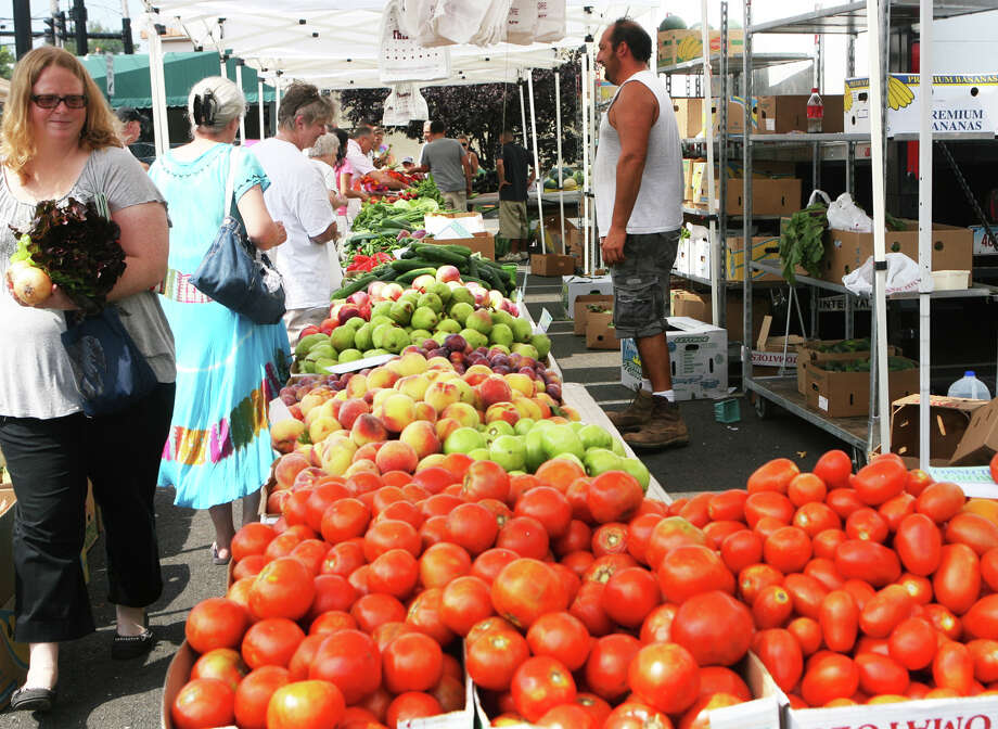 The downtown Milford farmers market is back every Saturday through October 11. Find out more. More area farmers markets  Photo: Unknown, B.K. Angeletti / Connecticut Post freelance B.K. Angeletti