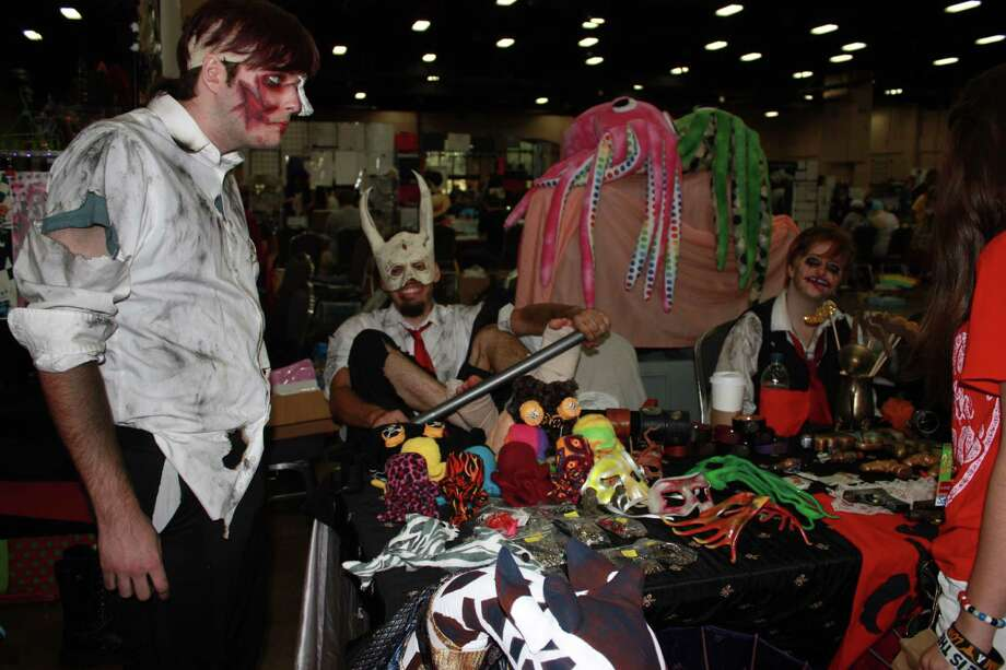 Fans of cosplay enjoy San Japan at the Convention Center and Grand Hyatt. Photo: Libby Castillo/Special For The Express-News