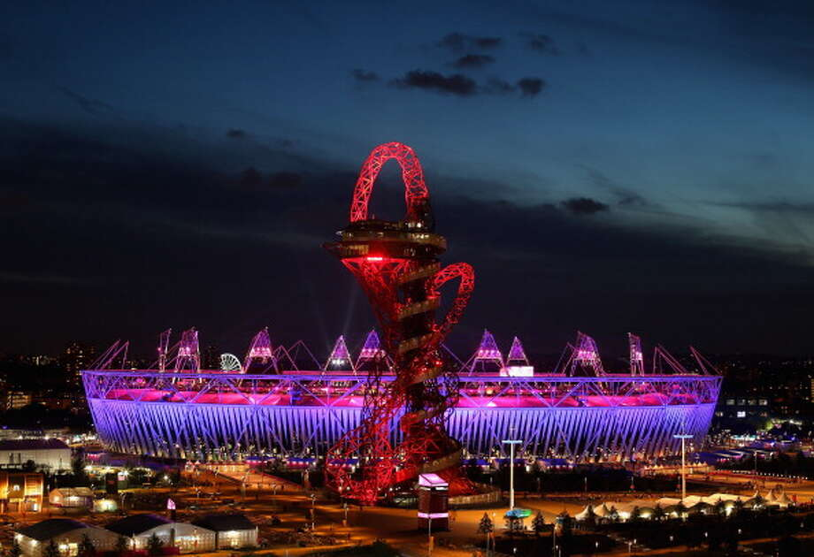 The Olympic Stadium during the Closing Ceremony. Photo: Getty Images