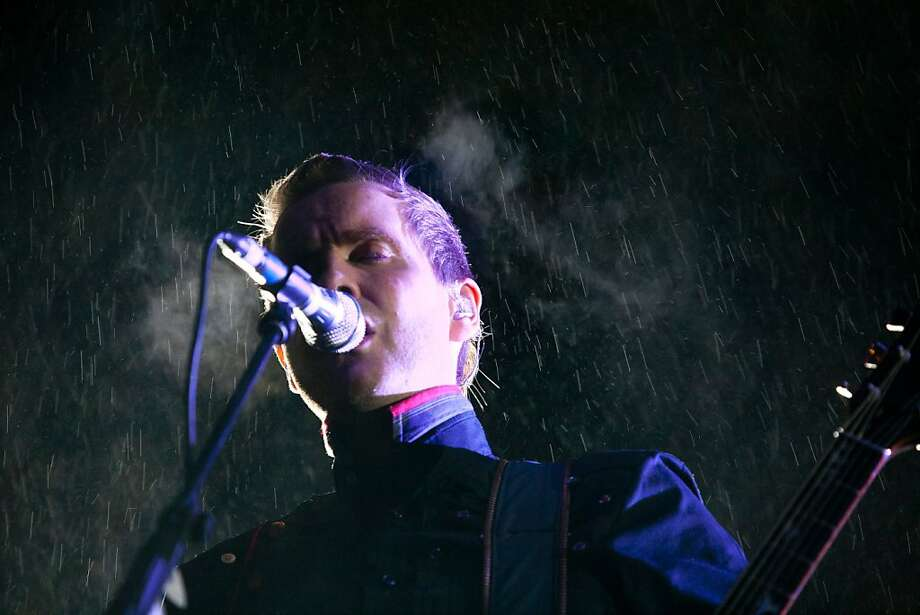 Sigur Ros performed under a heavy mist from the fog at the Twin Peaks stage at the 2012 Outside Lands Music Festival in Golden Gate Park in San Francisco, Calif., Saturday, August 11, 2012. Photo: Jason Henry, Special To The Chronicle