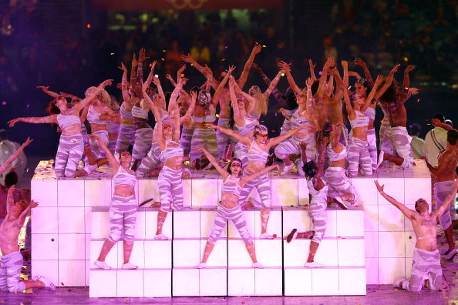 Dancers perform during the Closing Ceremony. Photo: Getty Images