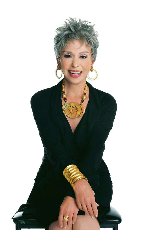 "Rita Moreno will be featured at an event called ""Dinner with Rita"" at 6 p.m. Sept. 22 at the Marriott Rivercenter, 101 Bowie St. Photo: Courtesy Photo"