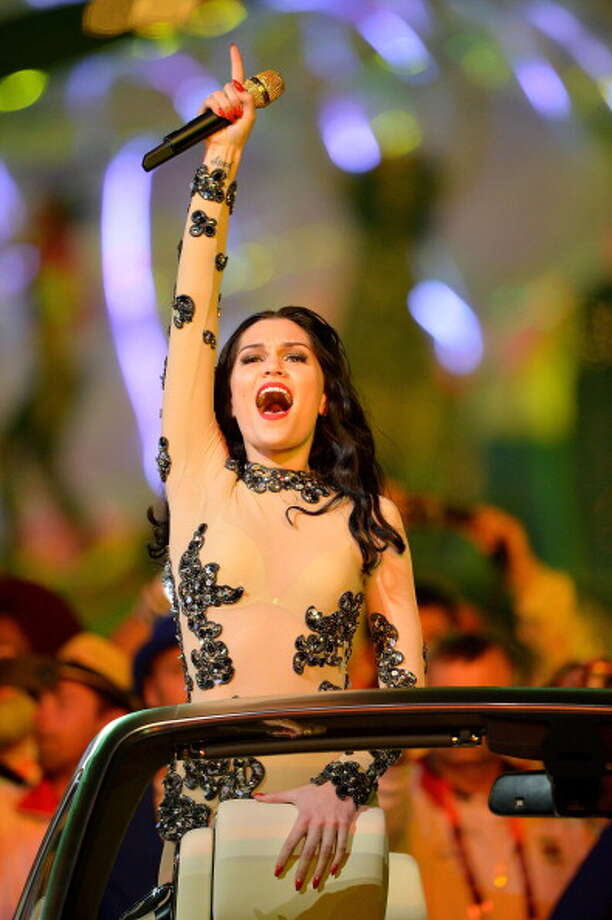 Musician Jessie J performs during the Closing Ceremony. Photo: Getty Images