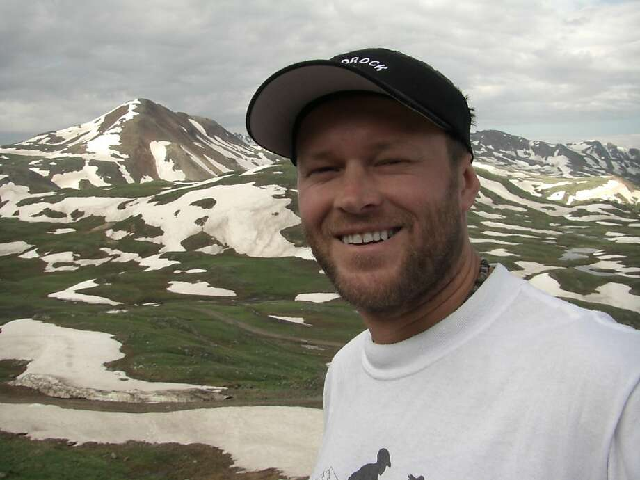 Speed hiker Michael Popov died last week in Death Valley. Photo: Sarah Spelt