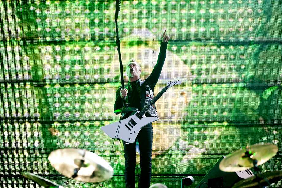 Metallica's last San Francisco show was the 2012 Outside Lands Music Festival in Golden Gate Park. Photo: Jason Henry, Special To The Chronicle
