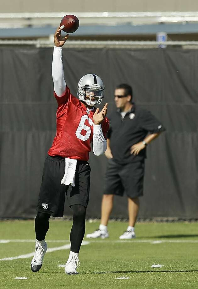 It's been almost two years since Raiders backup quarterback Terrelle Pryor saw meaningful action on the football field. Photo: Jeff Chiu, Associated Press