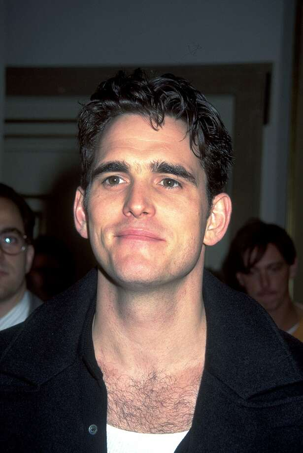 "Matt Dillon as Cliff PoncierMatt Dillon put aside his brooding persona of the '80s and '90s to play dim-witted, long-haired Cliff Poncier in ""Singles,"" the lead singer of fictional grunge band ""Citizen Dick."" (Getty Images / Getty Images)"