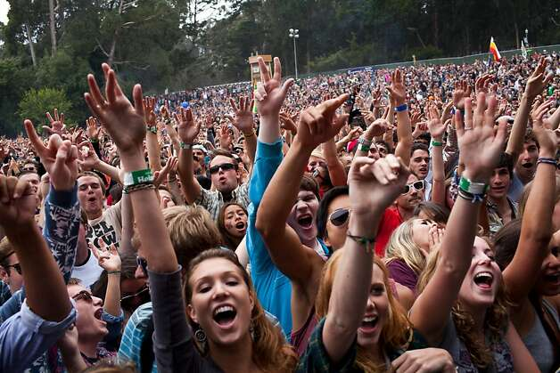 Outside Lands Music and Arts Festival will return to Golden Gate Park on Aug. 9-11. Promoters Another Planet Entertainment just secured an eight-year permit extension to keep the festival in the park. Capacity will increase to 75,000 per day (up from 65,000 last year) possibly signaling even bigger headliners.  Photo: Jason Henry, Special To The Chronicle