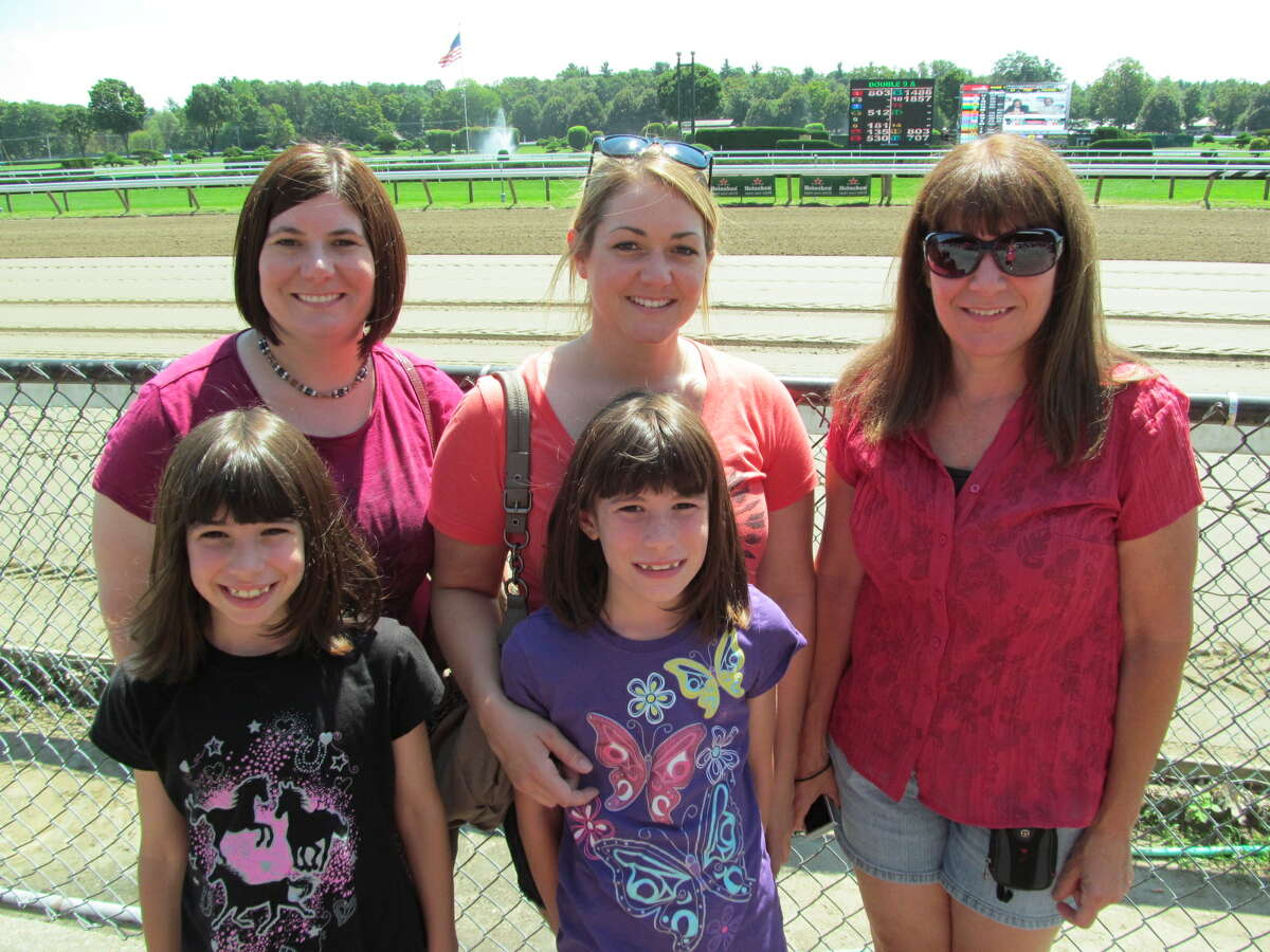 Were you Seen at the Saratoga Race Course on Sunday, August 12, 2012?
