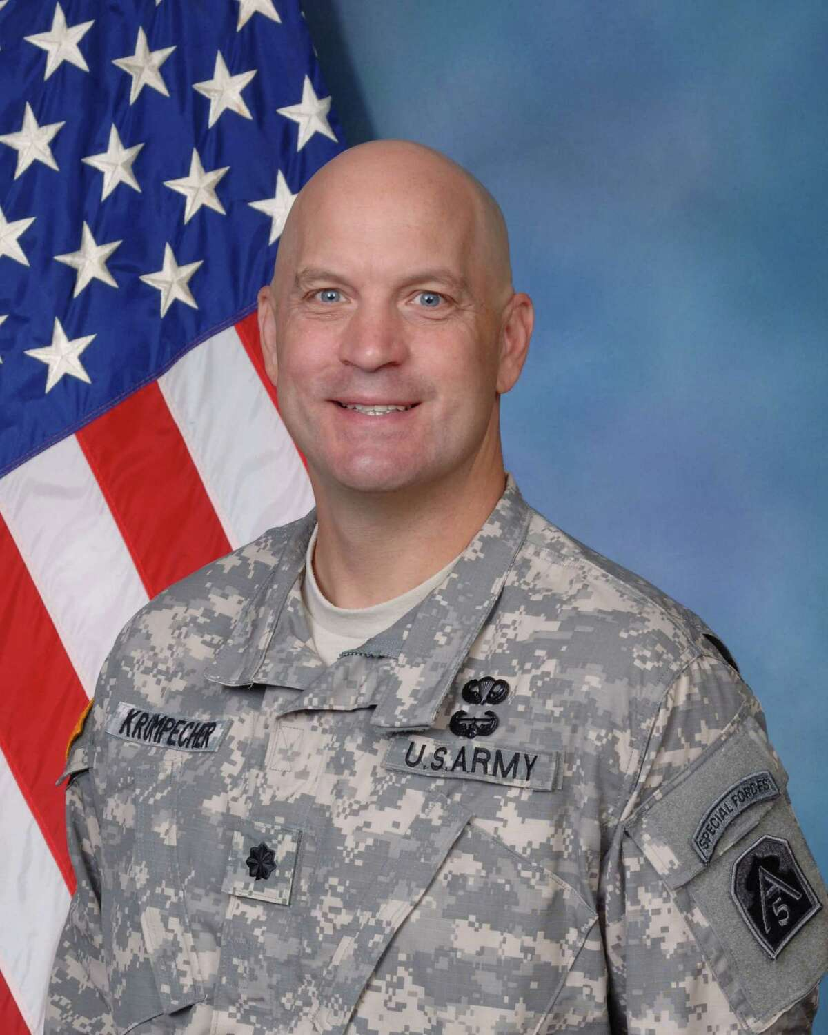 Lt. Col. Zoltan Krompecher is a battalion commander in Army North.