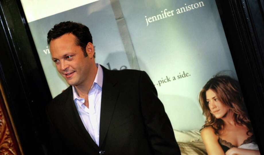 "After her divorce, Aniston and Vince Vaughn started dating while filming ""The Break-Up"" in 2006.  Photo: GREG WOOD, Getty / 2006 AFP"