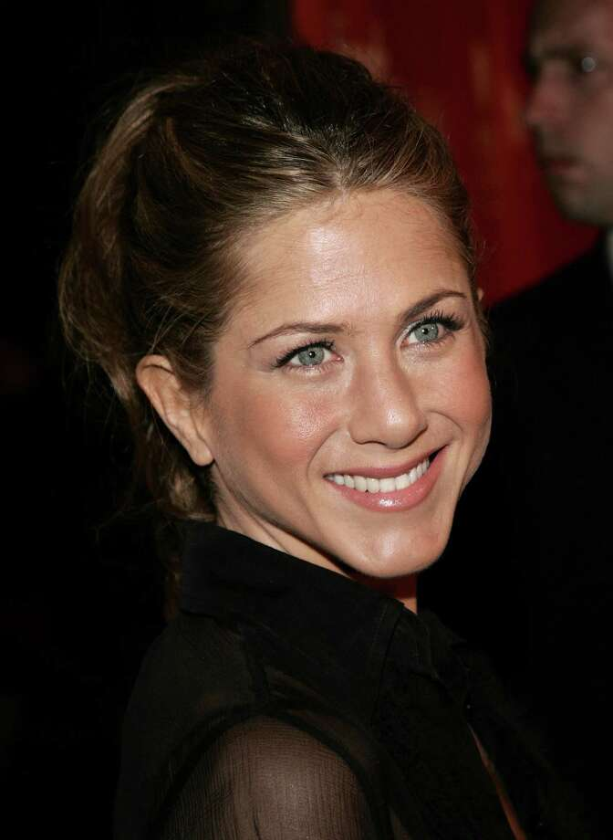 "Aniston arrives at the Sony Pictures Classics premiere of the film ""Friends with Money"" held at The Egyptian Theatre on March 27, 2006, in Hollywood. Photo: Vince Bucci, Getty / 2006 Getty Images"
