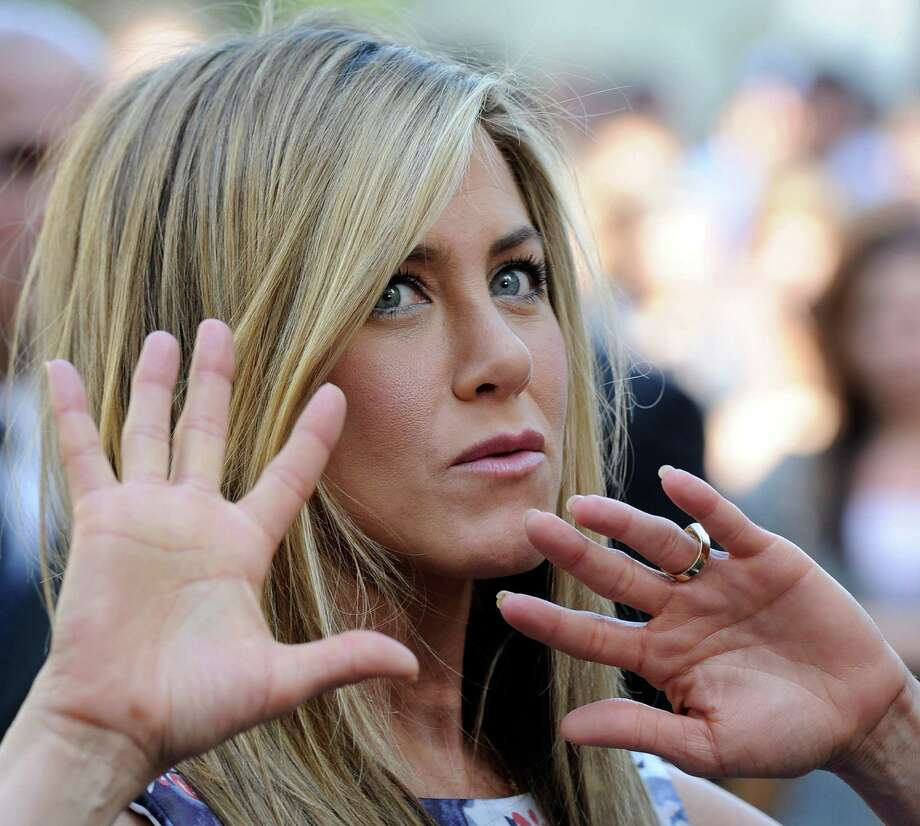 Aniston who was honored with a star on the Hollywood Walk Of Fame  on Feb. 22, 2012, in Hollywood. Photo: Frazer Harrison, Getty / 2012 Getty Images