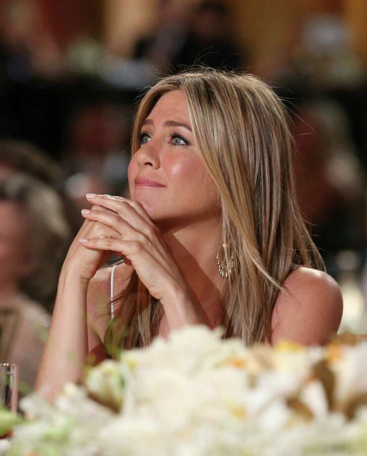 Actress Jennifer Aniston attends the 40th AFI Life Achievement Award honoring Shirley MacLaine held at Sony Pictures Studios on June 7, 2012, in Culver City, Calif. Photo: Christopher Polk, Getty / 2012 Getty Images