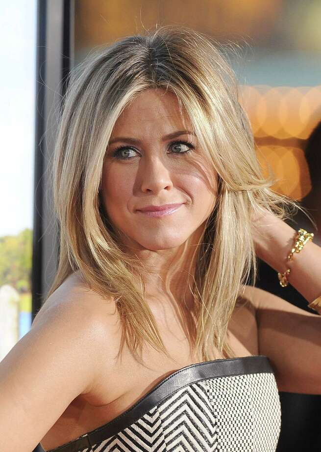 Aniston arrives at the premiere of Universal Pictures' 'Wanderlust' held at Mann Village Theatre on Feb. 16, 2012, in Westwood, Calif. Photo: Jason Merritt, Getty / 2012 Getty Images