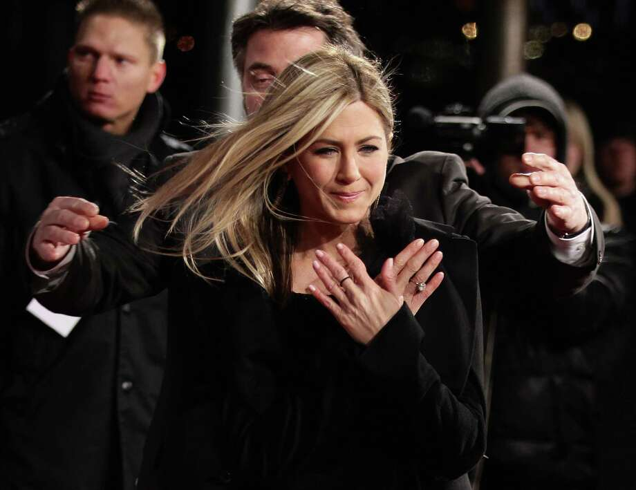 "Aniston attends the premiere of ""Just Go With It"" Feb. 21, 2011, in Berlin, Germany. Photo: Andreas Rentz, Getty / 2011 Getty Images"