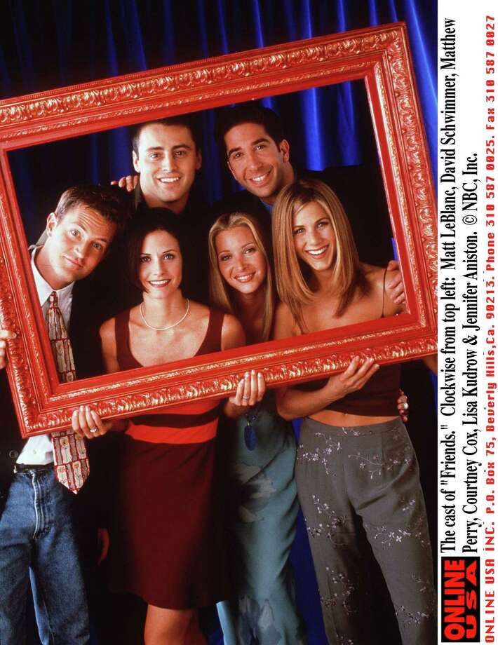 "The cast of ""Friends.""  Photo: NBC, Getty / Getty Images North America"