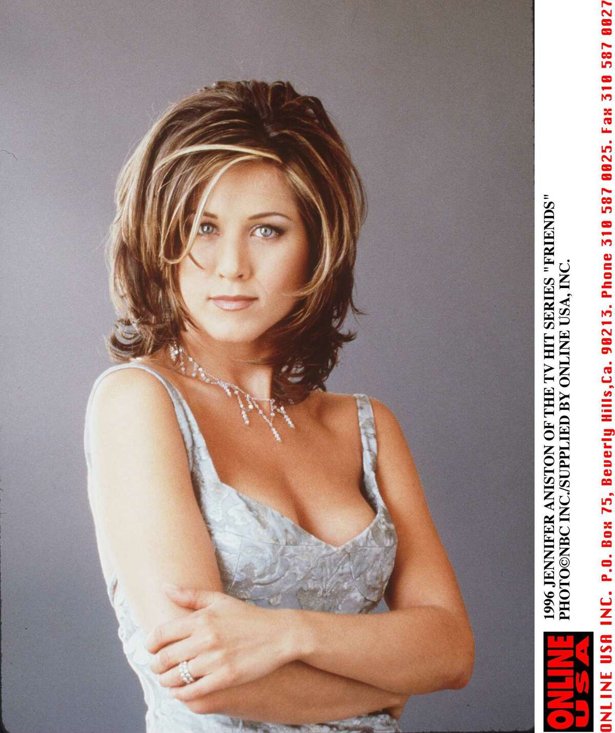 Then the Rachel was born. Aniston from 1995 publicity shot for