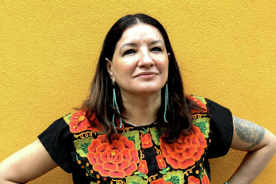 Sandra Cisneros for the book and author luncheon Photo: Courtesy Photo