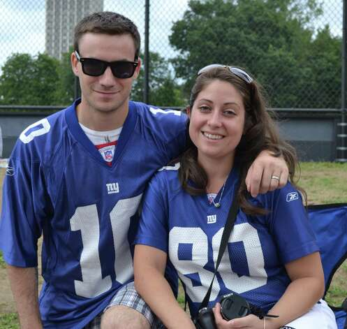 Were you Seen at the NY Giants Training Camp at UAlbany on Monday, August 13, 2012? Photo: Photo By Diana Hawkins