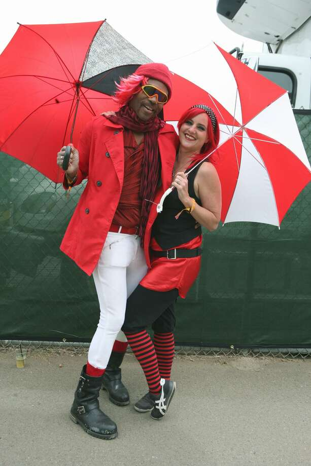 """Who:Ze McElroy & Pamela Holm from San Francisco: Philosophy: """"We are red, black and white fun!"""""""
