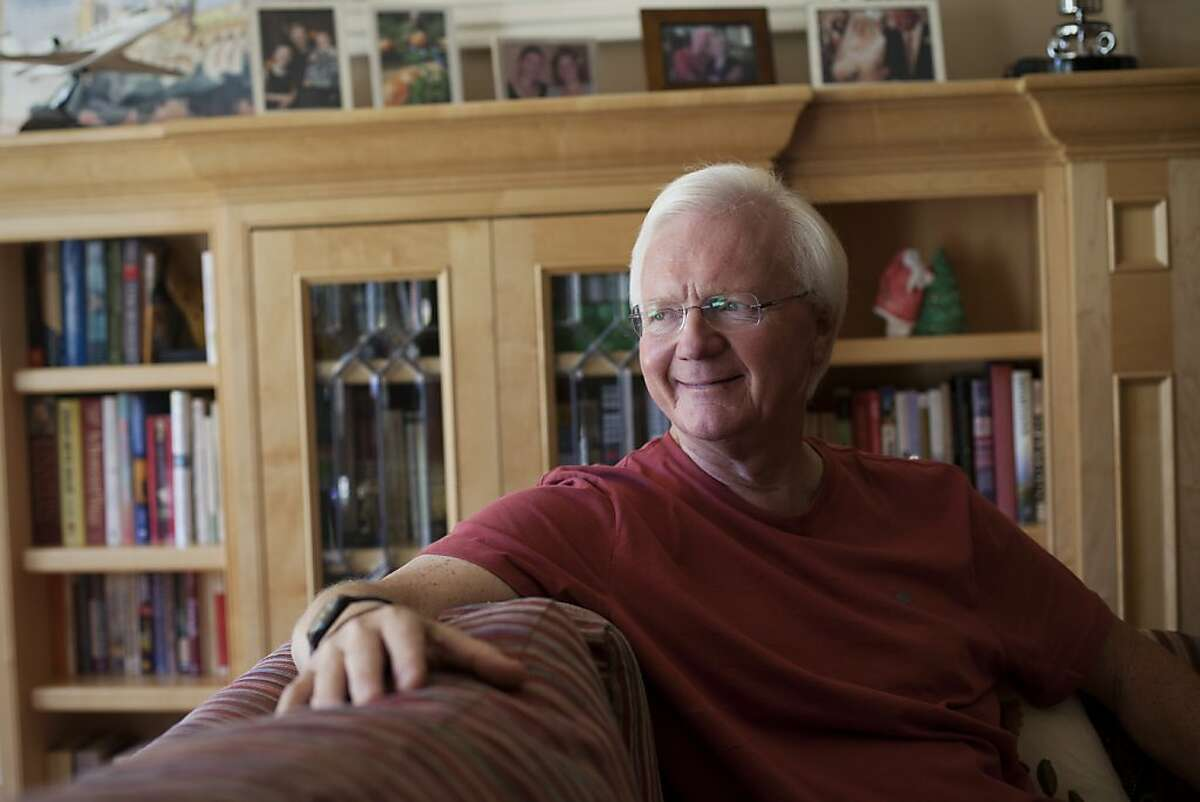 John Charles Shoemaker is diagnosed with prostate cancer. He decided to take the active surveillance approach and lives without progress in the disease since six years. Los Altos, Calif. on Thursday, Aug 09, 2012.