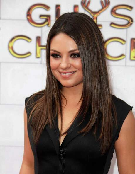 Mila Kunis arrives at the 2012 Guys Choice Awards on Saturday June 2, 2012 in Culver City, Calif. (Photo by Todd Williamson/Invision/AP) Photo: Todd Williamson / 2012 Invision