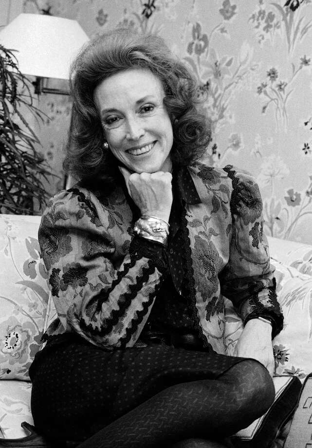 FILE - This Sept. 20, 2982 file photo shows Cosmopolitan editor Helen Gurley Brown is shown during an interview at her office in New York. Brown, longtime editor of Cosmopolitan magazine, died Monday, Aug. 13, 2012 at a hospital in New York after a brief hospitalization. She was 90. (AP Photo/Marty Lederhandler, file) Photo: Marty Lederhandler, Associated Press / AP
