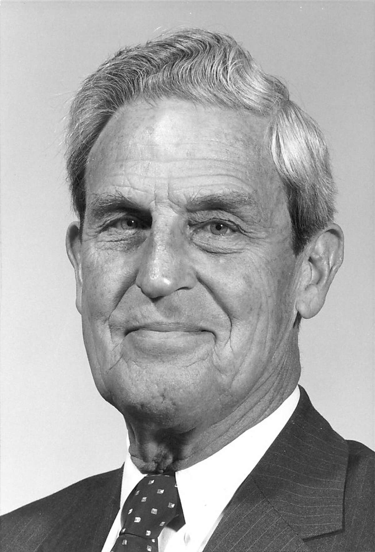 Dr. Benson B. Roe, a UCSF cardiac surgeon who conducted significant early research on artificial hearts and materials for synthetic heart valves and blood vessels.
