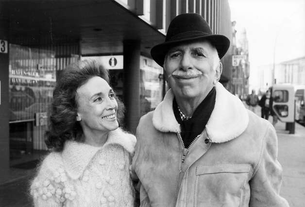 Helen Gurley Brown and spouse David Brown in 1984. Photo: Hearst Corporation