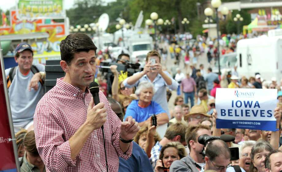 Republican vice-presidential candidate Paul Ryan vowed to eliminate tax loopholes during a campaign stop Monday at the Iowa State Fair. Photo: Steve Pope / 2012 Getty Images
