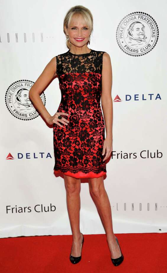 Actress Kristin Chenoweth attends the Quentin Tarantino Friars Club Roast at the New York Hilton Hotel on Wednesday, Dec. 1, 2010 in New York. (AP Photo/Evan Agostini) Photo: Evan Agostini / AGOEV
