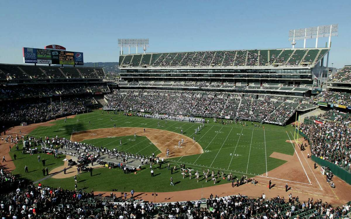 2. They won't have to share their stadium .The Raiders' current stadium, O.co Coliseum, is the only stadium that serves both a NFL team and a MLB team. San Antonio could provide a single-purpose stadium for the Raiders without forcing them to run across dirt to get to the end zone.