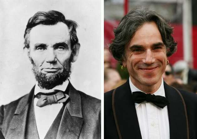 "Four score and there will be blood? Daniel Day-Lewis will play Abraham Lincoln in the upcoming Dreamworks movie ""Lincoln."" (Alexander Gardner / Getty Images)"