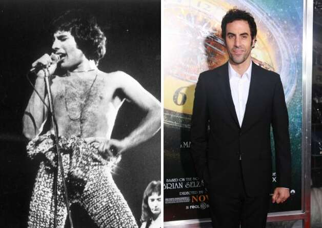 "Maybe Sasha Baron Cohen, who'll star in a biopic of late Queen singer Freddie Mercury, will resurrect the ""Borat"" thong."