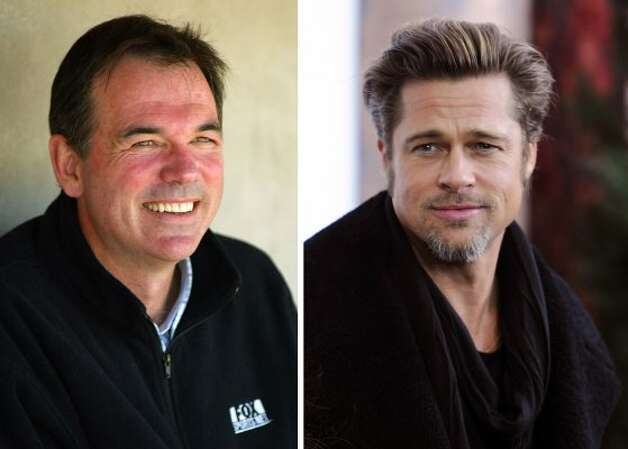 "Brad Pitt played Oakland A's general manager Billy Beane in ""Moneyball."" (Christian Petersen / Getty Images)"