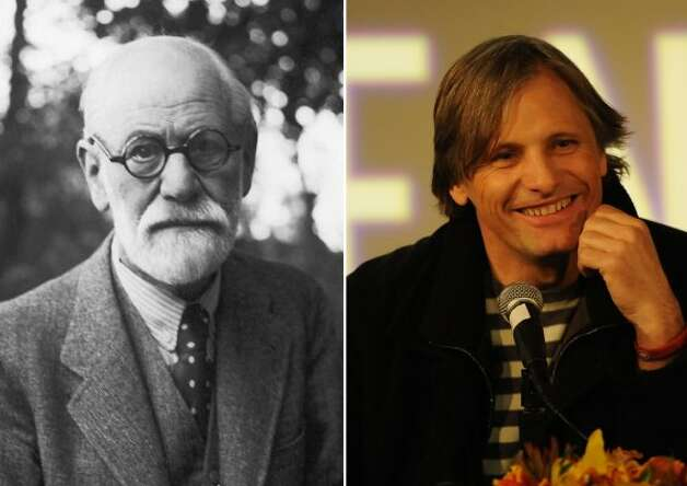 "Viggo Mortensen played Sigmund Freud in the 2011 movie ""A Dangerous Method."""